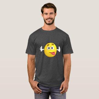 Funny Emoji Sticking out Tongue T-Shirt