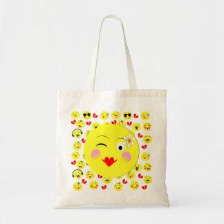 Funny Emoji Style Smiley Faces Theme