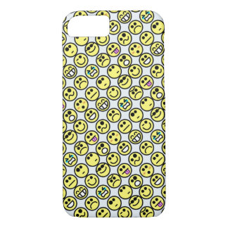 Funny Emoticon Smiley Face Expression iPhone 7 iPhone 7 Case