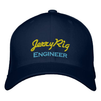 Funny Engineer Embroidered Baseball Cap