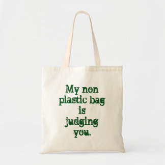 Funny Environmentalist Grocery Bag Eco Friendly