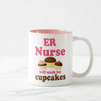 Funny Er Nurse Two-Tone Coffee Mug