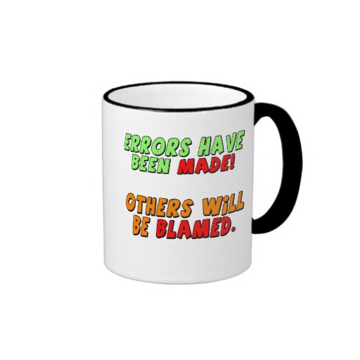 Funny Errors Made T-shirts Gifts Mugs