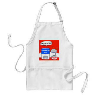 Funny Evangelical Christian Hallelujah Cartoon Standard Apron