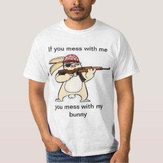 Funny Evil Bunny T-shirt