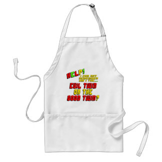 Funny Evil Twin T-shirts Gifts Adult Apron
