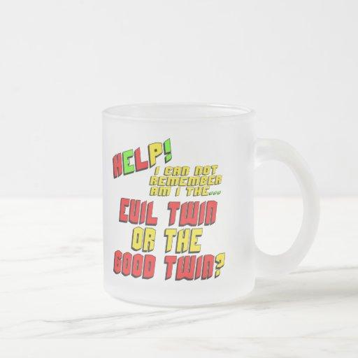 Funny Evil Twin T-shirts Gifts Mugs
