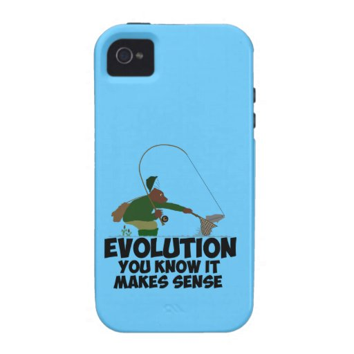 Funny evolution iPhone 4 cover