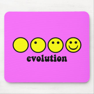 Funny evolution mouse pad