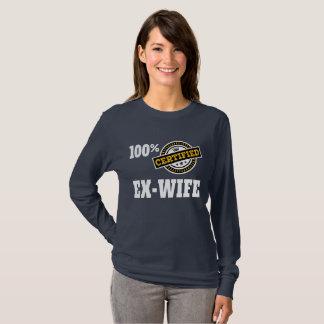 Funny Ex Wife Divorce T-Shirt