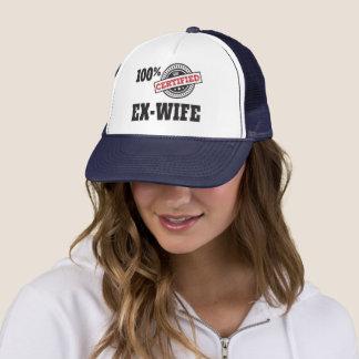 Funny Ex Wife Divorce Trucker Hat