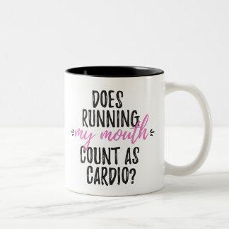Funny Exercise Mug