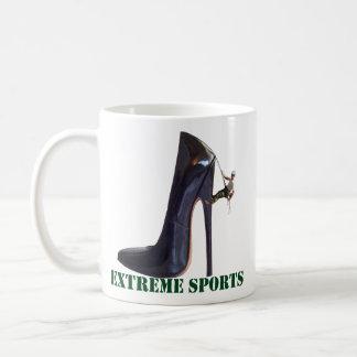 Funny Extreme Sports - Shoe Climbing Coffee Mug
