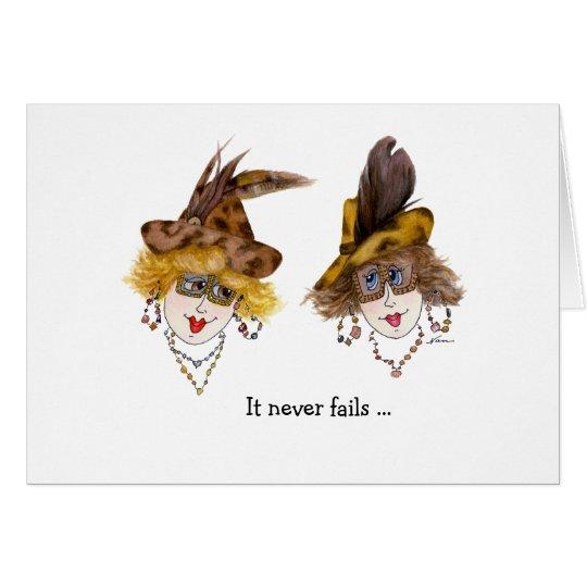 Funny Fabulous Ladies Card