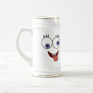 Funny Face Beer Steins