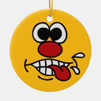 Funny Face custom ornaments