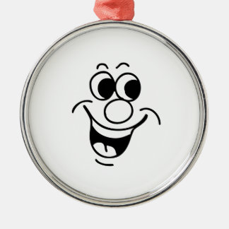 Funny Face Ornaments