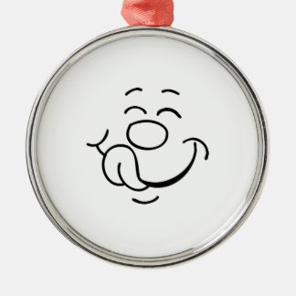Funny Face Christmas Tree Ornament