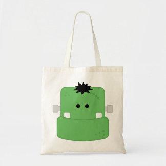 Funny Face Frankenstein Bags