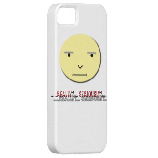 Funny Face Iphone Case - Really? iPhone 5 Cases