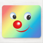 Funny Face Mouse Mat