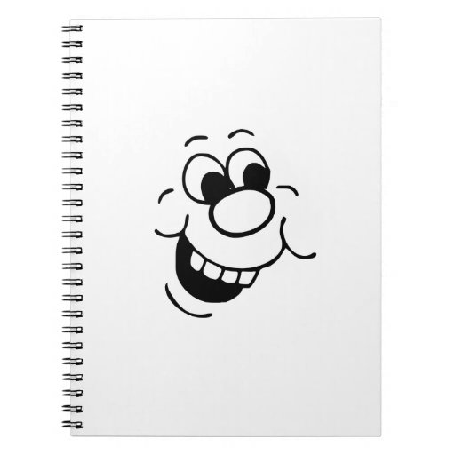 Funny Face Note Books