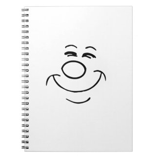 Funny Face Note Book