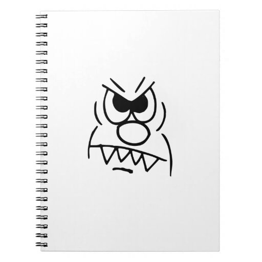 Funny Face Notebook