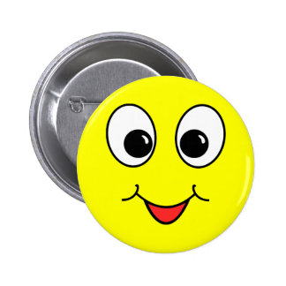Funny Face Pinback Buttons