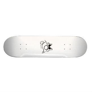 Funny Face Skate Board