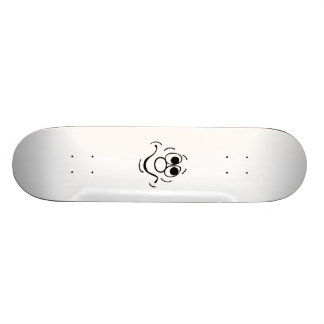 Funny Face Skate Board Deck