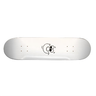 Funny Face Custom Skateboard