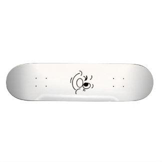 Funny Face Custom Skate Board