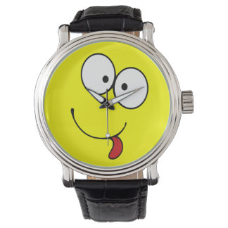 Funny Face Wrist Watches