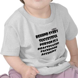 Funny Facebook success fact Shirts