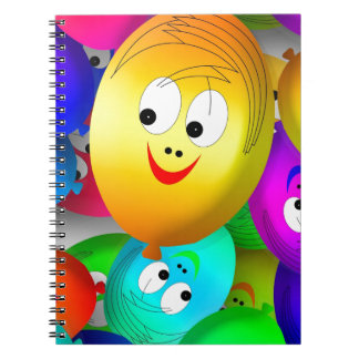 Funny Faces Note Book