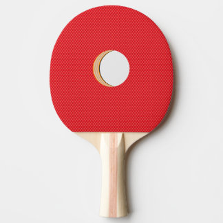 Funny Fake Hole & Fake Pips Out Ping Pong Paddle