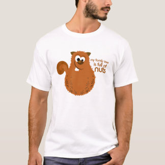 Funny Family Tree Squirrel T-shirt
