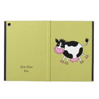 funny farm cow iPad air case