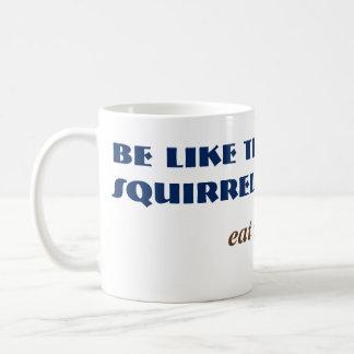 Funny Fart Squirrel Woodland Animal Comedy Basic White Mug