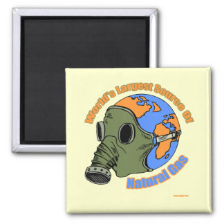 Funny Farting T-shirts Gifts Square Magnet