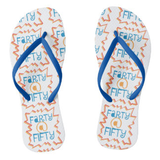 Funny Farty at Fifty 50th Birthday Gag Gift Thongs