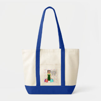 Funny Fashion Addict, Tote Bag - Add Photo & Text
