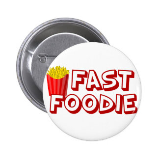 Funny Fast Food 6 Cm Round Badge