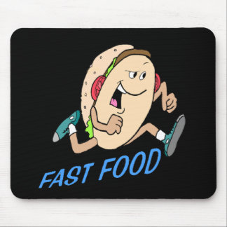 Funny Fast Food T-shirts Gifts Mouse Mat
