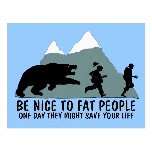 Funny fat kid post cards