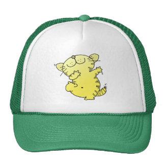 Funny fat Kitten Dancer Hats