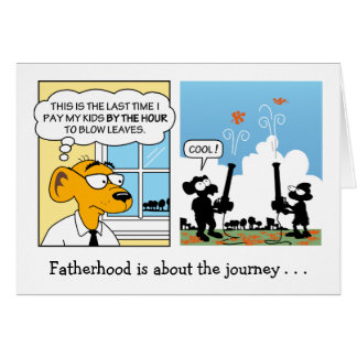 Funny Father s Day Card Fatherhood