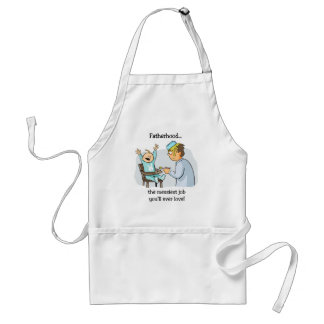 Funny Father's Day Adult Apron