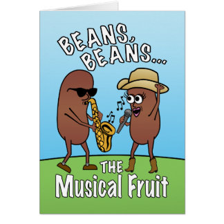 Funny Father's Day Bean Joke Cards